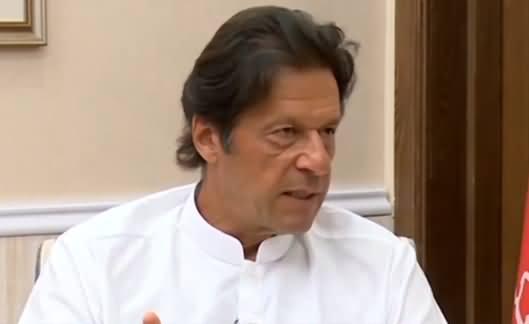 Imran Khan Speaks in Favour of Arshad Sharif & Criticizes Govt