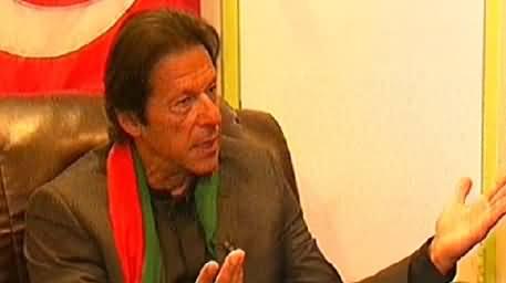 Imran Khan Special Interview to Samaa News - 30th November 2014