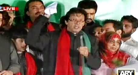 Imran Khan Speech in PTI Azadi March, Islamabad - 15th October 2014