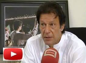 Imran Khan Supports Dialogues with Taliban - Operation Should Be Against Those Who Are Not Ready to Dialogue