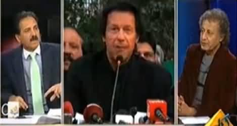 Imran Khan & Tahir ul Qadri Will Be In Trouble If Military Courts Established - Khushnood Khan