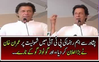 Imran Khan Talks To Workers After Important Leader Joins PTI
