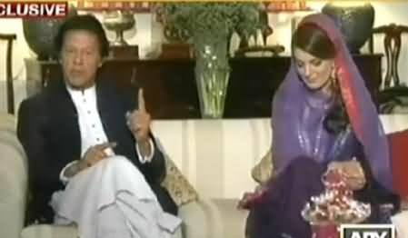 Imran Khan Telling the Qualities of Reham Khan Which Impressed Him