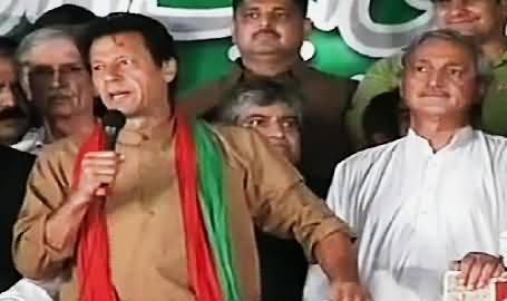 Imran Khan Telling the Story How He Got His Workers Released From Police Last Night
