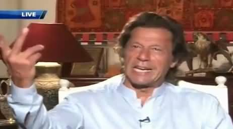 Imran Khan Telling What He Is Going To Do With ECP Members On October 4
