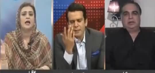 In Ko Chup Karayein - Heated Debate Between Uzma Bukhari & Imran Ismail