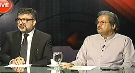 Indepth With Nadia Mirza (Afzal Khan's Allegations) – 25th August 2014
