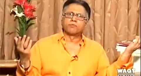 Indepth With Nadia Mirza (Hassan Nisar Special Interview on Current Political Situation) – 8th October 2014