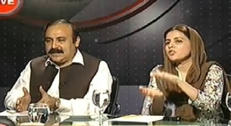 Indepth With Nadia Mirza (Negotiations with Protestors) - 11PM To 12AM - 22nd August 2014