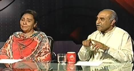 Indepth With Nadia Mirza (Revelations of Naheed Khan & Safdar Abbasi) – 27th October 2014