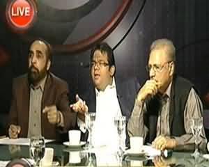 Indepth With Nadia Mirza (Will Pervez Musharraf Leave Pakistan?) - 1st April 2014
