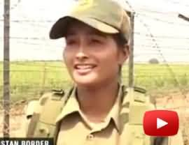 India Deployed Female Soldiers on Pakistani Border as BSF - Indian Women Soldies Are Much Excited