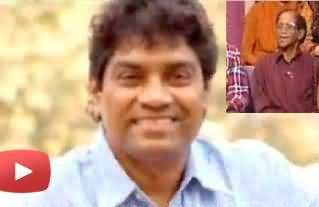 Indian Comedy Actor Johbny Lever Challenged A Song to Naseer Bhai of Khabarnaak