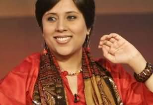 Indian Female Journalist Barkha Dutt Favoured Nawaz Sharif that He Didn't Say Villager Woman to Manmohan
