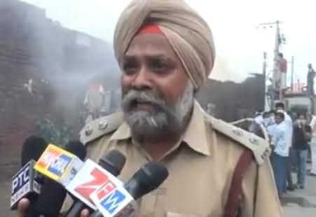 Indian Fire Brigade Officer Crying While Talking to Media, Really Funny