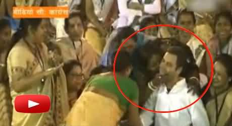 Indian Husband Killed Her Wife For Kissing Rahul Gandhi and Then Committed Suicide