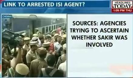 Indian Media Claims to Arrest an ISI Agent From Chennai Who is Involved in Train Blasts