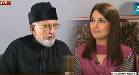 Infocus (Dr. Tahir ul Qadri Exclusive Interview with Reham Khan) – 4th October 2014