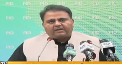 Information Minister Fawad Chaudhry Press Conference - 9th April 2019