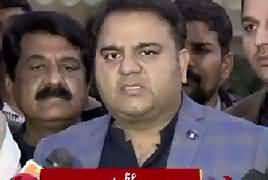Information Minister Fawad Chaudhry's Media Talk – 3rd February 2019