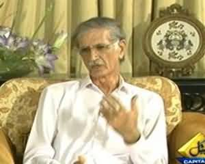 Inkaar - 22nd July 2013 (Pervaiz Khatak Exclusive Interview)