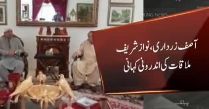 Inside Story of Nawaz Sharif And Asif Zardari's Meeting