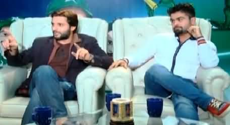 Inspired Sitary With Muhammad Wasim (Shahid Afridi & Ahmed Shahzad Special) – 13th February 2015
