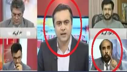 Intense Debate Between Mansoor Ali Khan and Siddiq ul Farooq in Live Show