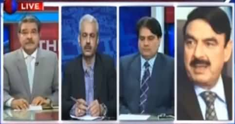 Interesting Conversation Between Sami Ibrahim, Sabir Shakir & Sheikh Rasheed on Mustafa Kamal Issue
