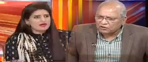 Interesting Debate Between Paras Jahanzeb & Mushahid Ullah Khan On Imran Khan's Marriage