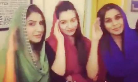 Interesting Dubsmash Video of Geo Tv Newscasters All Together