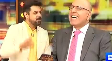 Interesting Rapid Fire Round With Jaan Achakzai of PMLN