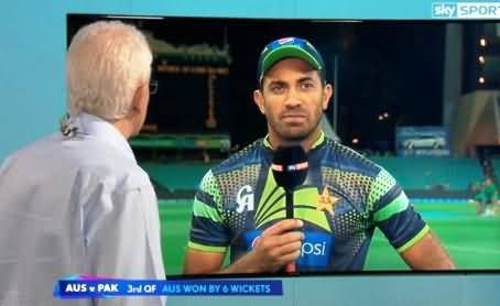 Interesting Talk With Wahab Riaz About Shane Watson After Pakistan's Defeat
