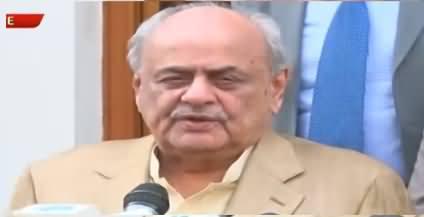 Interior Minister Brig (R) Ijaz Shah Media Talk in Quetta - 19th September 2019