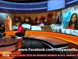 Iram Parveen Bilal and Aamina Sheikh Special Interview on BBC World News About Movie Josh