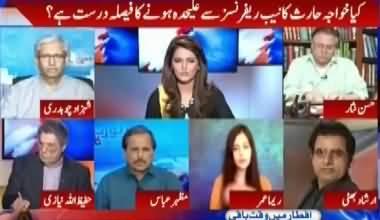 Irshad Bhatti´s comments on Khawaja Haris withdraws from representing Nawaz Sharif and Maryam Nawaz in NAB references