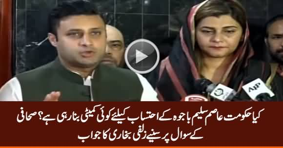 Is Govt Forming Any Committee To Get Money Trail From Asim Bajwa? Journalist Asks Zulfi Bukhari