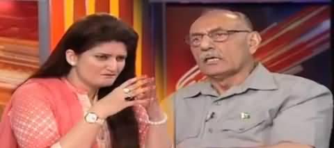 Is Se Bara Jhota Aadmi Aur Kaun Ho Sakta Hai - General (R) Amjad Shoaib Bashing Nawaz Sharif