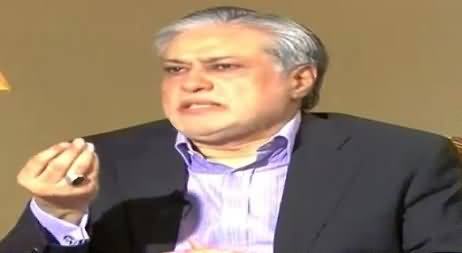 Ishaq Dar Claims In Live Show That He Introduced Benazir Income Support Program