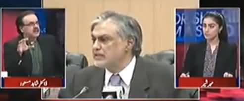 Ishaq Dar Ko Jhot Bolne Ki Bimari Hai - Dr. Shahid Masood Grills Ishaq Dar