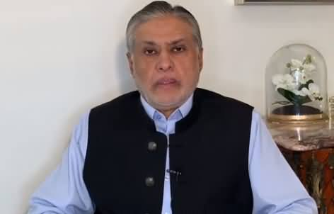 Ishaq Dar's Critical Analysis on PM Imran Khan's Controversial Statement in USA