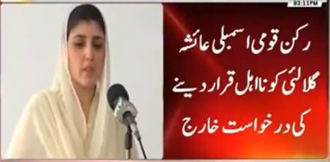Islamabad High Court Rejects Petition Seeking Gulalai's Disqualification