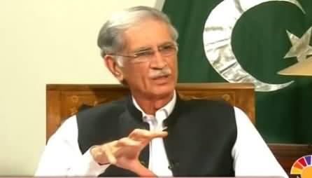 Islamabad Se (CM KPK Pervez Khattak Exclusive Interview) – 2nd June 2015