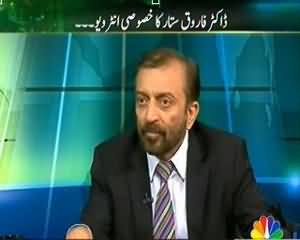 Islamabad se (Dr.Farooq Sattar Exclusive Interview!) - 29th August 2013