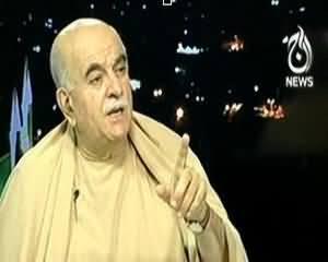 Islamabad Tonight (Mehmood Achakzai Exclusive Interview) - 19th September 2013