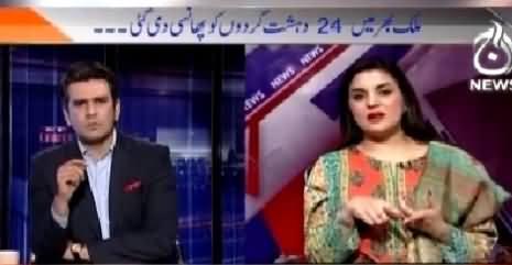 Islamabad Tonight With Rehman Azhar (24 Terrorists Ko Phansi De Di Gai) – 16th March 2015