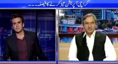 Islamabad Tonight With Rehman Azhar (Decision to Speed Up Karachi Operation) – 14th May 2015