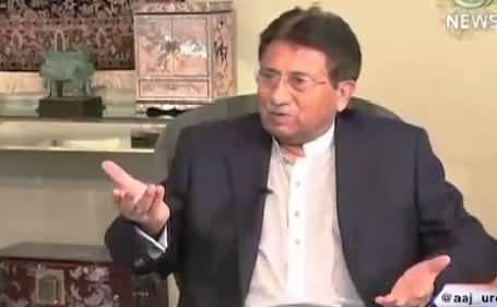 Islamabad Tonight With Rehman Azhar (Pervez Musharraf Exclusive Interview) – 12th August 2015