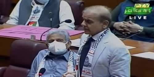 Islamic Countries Should Represent Their People's Voices On Palestine Issue - Shahbaz Sharif's Speech in NA