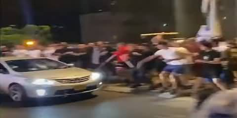 Israeli Extremists Attack Palestinian Driver With Stones